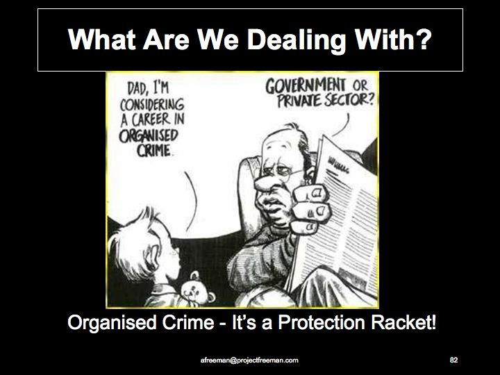 Organised Crime-Protection Racket