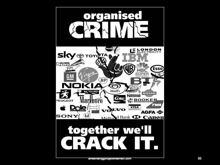 Organised Crime-We Can Crack It