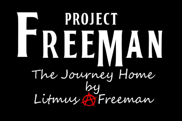 project freeman logo by peter thomas